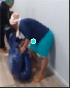 WATCH: Women carry dead body into Old Mutual after 'failure' to pay out funeral claim