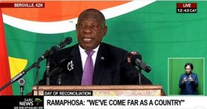 WATCH VIDEO | Cyril Ramaphosa's speech full of lies: True reconciliation cannot take place without taking back the land that was stolen by the Afrikaners from the Bantu people