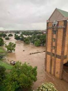 Flooding in Centurion is causing havoc