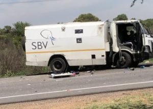 The City of Pretoria literally experienced a black Friday after two cash trucks were robbed