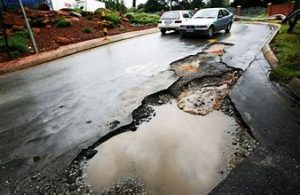 Holidaymakers need to drive careful this festive season, the country's roads are dangerous because of increased potholes caused by heavy rain