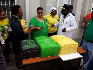 The ANC apparently paid R127 000-00 for the cake on tender.