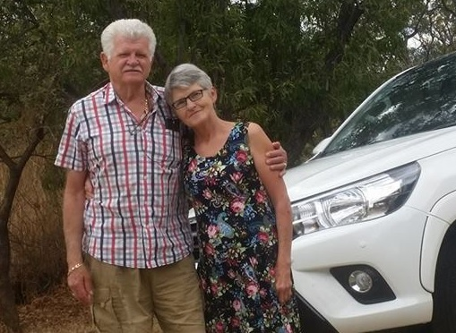 Andre Saaiman (65) and his wife Lidia were murdered