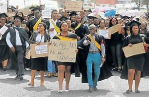 Matric class of 2019 will struggle to find jobs – SA Youth unemployment rate rose to 58.2 percent in the third quarter of 2019