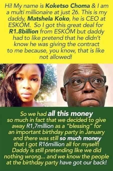 Eskom corruption