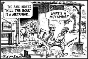 ANC Boer Metaphor