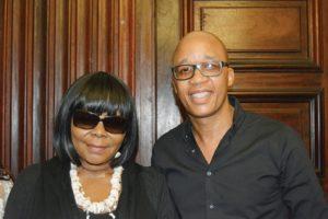 Kouno with Tembi Thambo