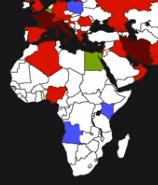 Corona virus africa