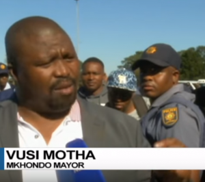 gangster mayor vusi motha