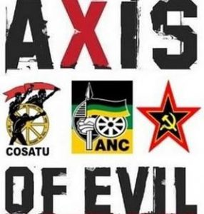 Axis of evil - ANC, Cosatu, SACP
