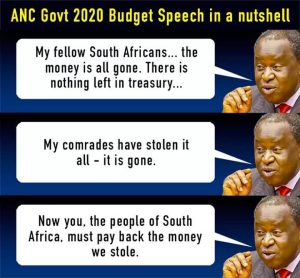 Pay back the corrupt money