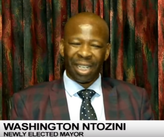 Washington Ntozini Mayor Matlosana municipality