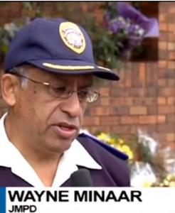 Wayne Minnaar, JMPD