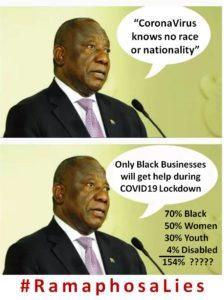 Ramaphosa Lies