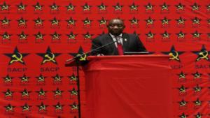 Ramaphosa Communist Party
