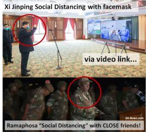 Ramaphosa Social Distancing