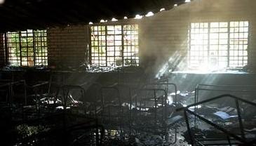 Blacks burn Gauteng schools