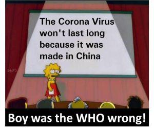 WHO wrong
