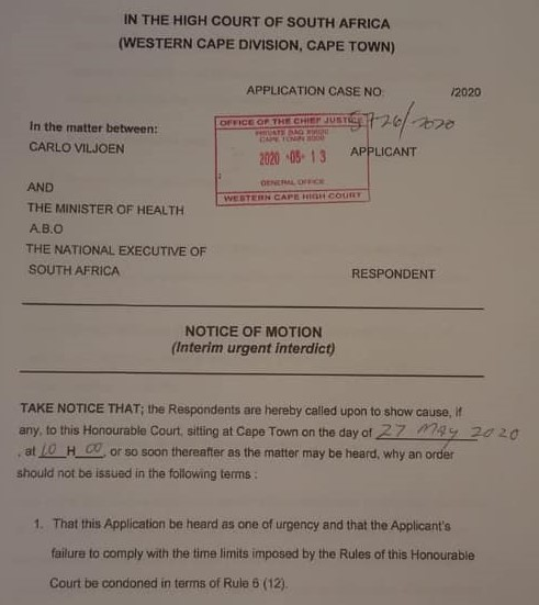 Hair industry court order