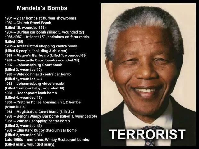 Mandela's bombs