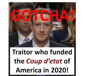 Facebook's Mark Zuckerberg funded USA Coup d'etat